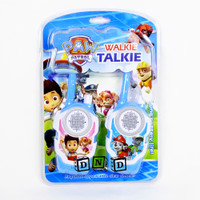 Mainan Anak Walkie Talkie Paw Patrol Series Hate HT Biru