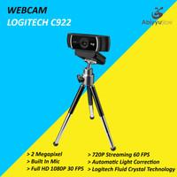 Webcam Logitech C922 HD Pro Stream 2MP / Web Cam PC Laptop Notebook