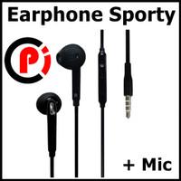 Earphone Headset Sporty dengan Microphone H04