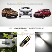 Lampu LED T10 Plafon Kabin Mobil Honda BRV HRV Mobilio Brio Atomic Smd
