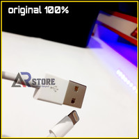 Kabel Data Power Bank iPhone 7 7plus 8 8plus ORIGINAL 100% 20cm