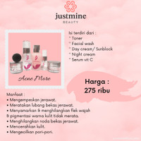 justmine beauty acne more