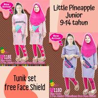 Little Pineapple Junior Setelan Baju Muslim Anak Perempuan Tunik 118