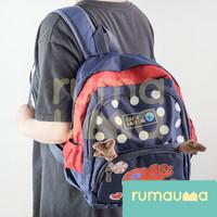 RUMAUMA Backpack Anak Sekolah Travel Piknik Hadiah Tas Ransel Rusa Kid