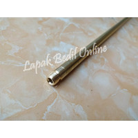 Pipa Srombong OD 13 P. 75cm + Nepel Murah