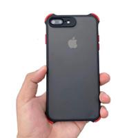 Hybrid camera protector case iphone 7plus/8plus - BLACK