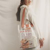 PVC Tote Bag Magnet Custom Nama