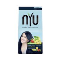 NYU Creme Hair Colour Blue Black (NYU Pewarna Rambut Semir Rambut)