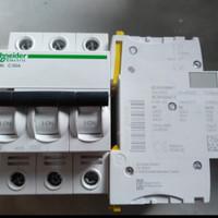 mcb schneider ic60n 3p 50a a9f74350 3phase 3pull 3 phase 50 a