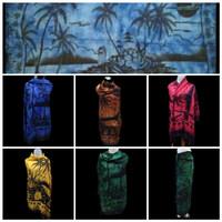 Promo termurah kain pantai bali motif Pantai dan Nyiur Motif abadi