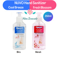 nuvo hand sanitizer 250ml pump