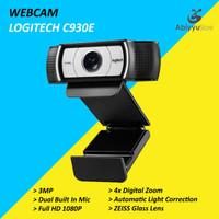 Webcam Logitech C930E HD 1080P / Web Cam PC Komputer Laptop Notebook