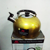 teko AK stainless steel kettle