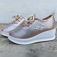 Sepatu Anak Import 71564 Gold