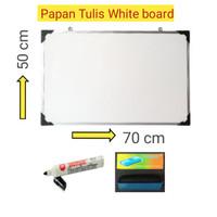 papan Tulis White board 50x70 cm