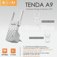Tenda A9 300mbps extender repeater wifi