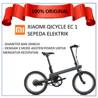 Xiaomi Qicycle EC1 Electric Bike - Sepeda Elektrik Xiaomi - Abu-abu