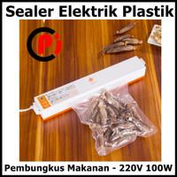 Taffware Sealer Elektrik Plastik Pembungkus Makanan 220V 100W