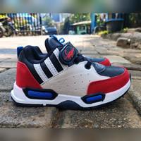 Sepatu Anak Import A1 Black/Red