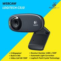 Webcam Logitech C310 HD 720P 5MP / Web Cam PC Laptop Notebook