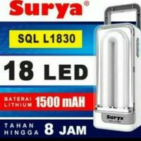 Lampu emergensi / lampu darurat surya SQL L1830