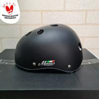 Helm sepeda monsa batok polos