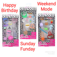 Baju Boneka Barbie Fashion Story Telling Accessory Pack Mattel