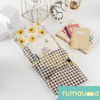 RUMAUMA Wall Organizer Gantungan Dinding Storage Bag 3 Kantong Sekat