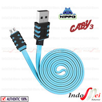 Kabel data charger HIPPO CABY 3 Micro usb - satuan ecer - 100 cm