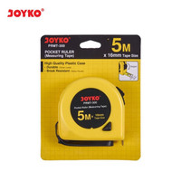 Pocket Ruler Measuring Tape Meteran Joyko PRMT 5 Meter