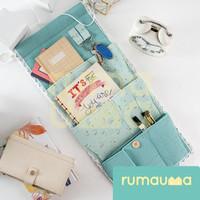 RUMAUMA Hanging Organizer 3 Pocket Dinding Hooker Dekorasi Penyimpanan