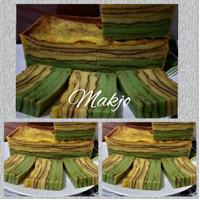kue lapis palembang dan kue basah