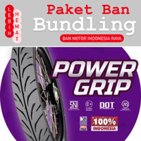 Paket Ban Motor MIZZLE Power Grip 250 17 dan 275 17 ( Tubetype )