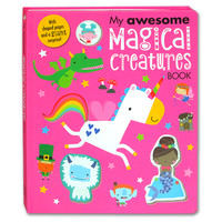 My Awesome Magical Creatures Board Book With Shaped Pages and a Giant