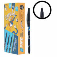 PIPO pen gel pps5 hot print donald Duck isi 12pcs tinta hitam