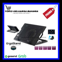 Fan Meja Laptop Notebook Stand with Cooling Pad ERGOSTAND For Laptop