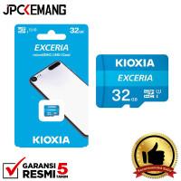 Memory Micro SD 32GB Kioxia Exceria MicroSD 100Mbps UHS-1 GARANSIRESMI