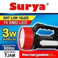 Lampu Senter Led Surya SHT L3W SHT-L13W 12LED lampu emergency