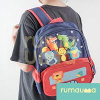 RUMAUMA Tas Ransel Anak Sekolah SD TK PAUD Lion High Quality Original