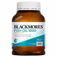 Blackmores Fish Oil minyak ikan omega 1000mg 400 caps