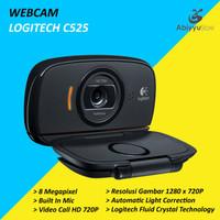 Webcam Logitech C525 HD 720P / Web Cam PC Komputer Laptop Notebook