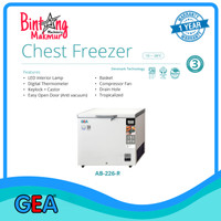 Chest Freezer Frozen Food GEA AB-226-R