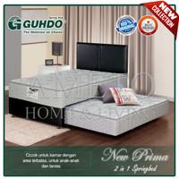 Guhdo Spring Bed 2 in 1 New Prima - 120 x 200 - Atlantic Full Set