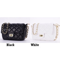 Clutch Bag Quilted GD10705 Tas Selempang Sling Bag Rantai Elegan Impor