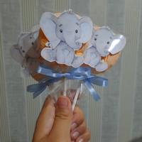 marshmallow lollipop utk dessert table