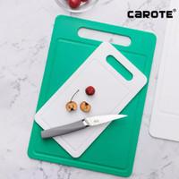 Carote Cutting Board Anti Bacterial Medium - Putih 340mm x 240mm