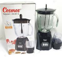 Blender Cosmos Kaca 2 Liter CB-281G | Blender Pelumat CB281G