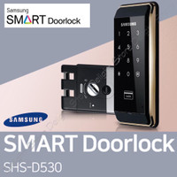 Samsung SHS-D530 Touchpad Electronic Digital Door Lock Home Security
