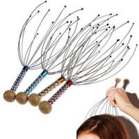 Alat Pijat Kepala Gurita 12 Titik Akupuntur Bokoma
