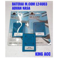 BATERAI BATRE BATTERY ADVAN NASA L24U03 MCOM DOUBLE POWER